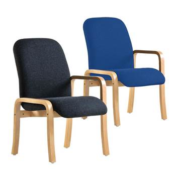 """Yealm"" reception chair: left arm"
