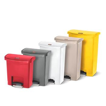 Slim-Jim® plastic step-on containers