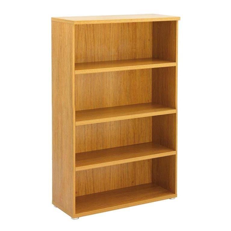 """Regent"" executive bookcases: H1600mm"