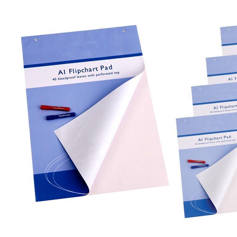Flipchart pads: A1