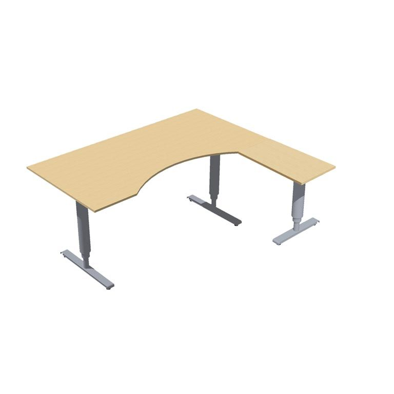 """Adeptus"" Adjustable desk, ergonomic"