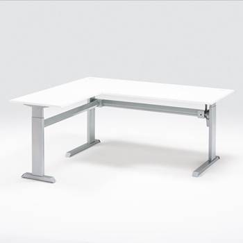 """Hæve-/sænkebord """"Flexus"""", i vinkel"""