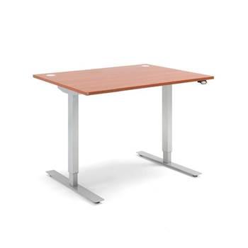 Skrivbord- höj och sänkbara, Flexus, längd 1200 mm