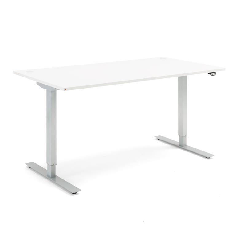 Skrivbord - höj och sänkbara, Flexus, längd 1600 mm