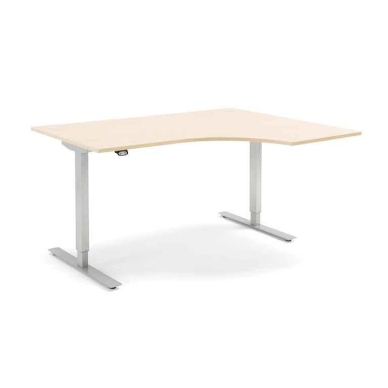 Ergonomiczne biurko Flexus, elektryczne, 1600x1200mm