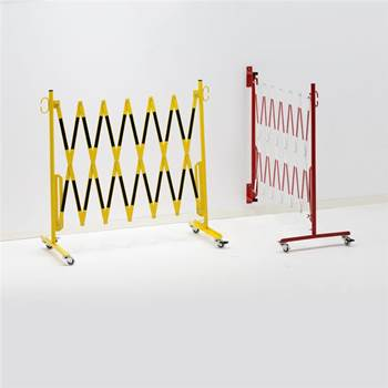 Accordian safety barrier