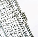 Wire mesh lockers