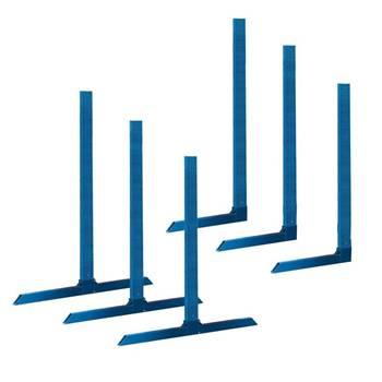 Podwójne lub pojedyncze filary do regałów dłużycowych