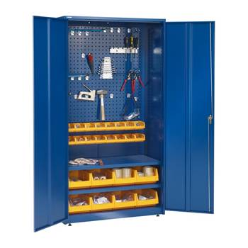 Tool cabinet: blue