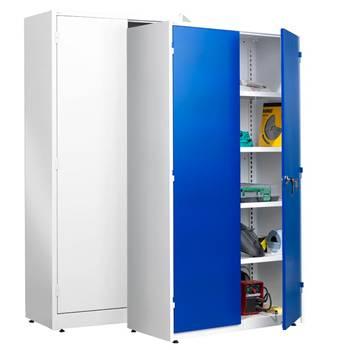 Extra deep storage cabinet