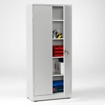 Förvaringsskåp, låsbart, helsvetsat