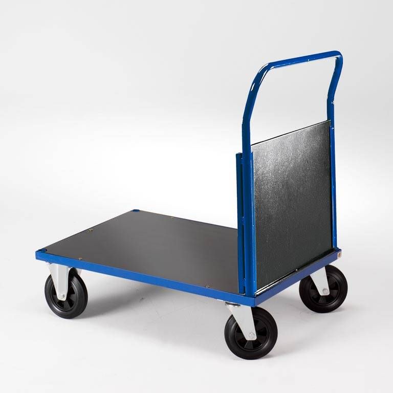 Trolley with single end frame