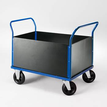 Trolley with 2 end frames and sides
