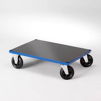 Platform trolley with no end frames