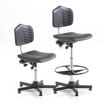 """Comfy"" industrial chairs: glidefeet"