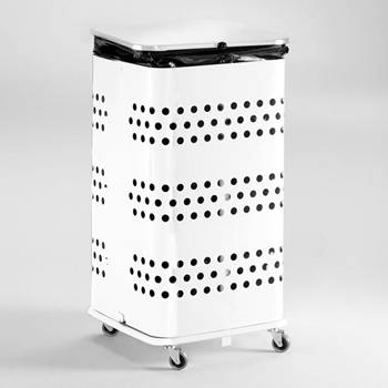 Modern refuse bag stand