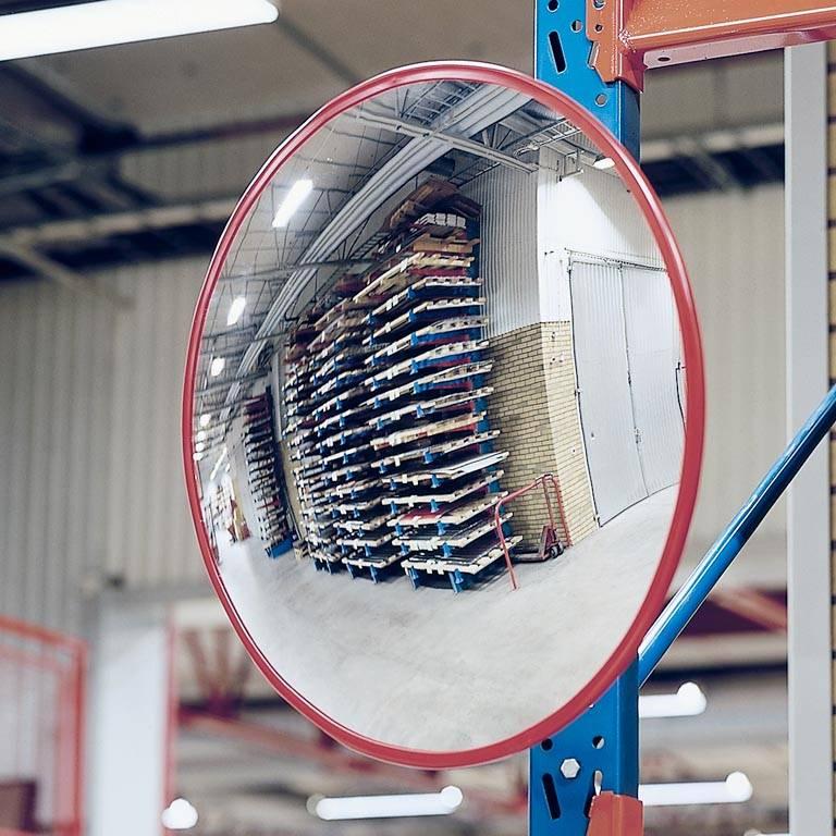 Indoor and outdoor industrial mirror
