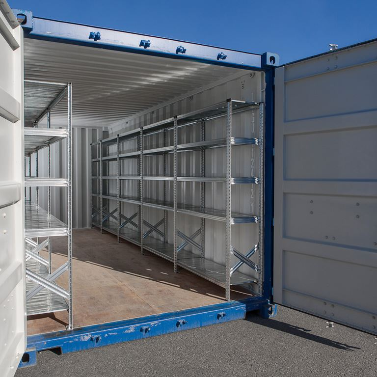 Hyllereol Transform for 40-fots container