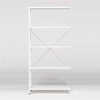 """Light"" office shelving: add on unit"
