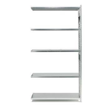 Total galvanised shelving, add-on unit