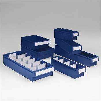 Lagerboks med håndtak, 32-pk, 2, Format HxBxL (mm):100x115x300, Volum (L):2,4