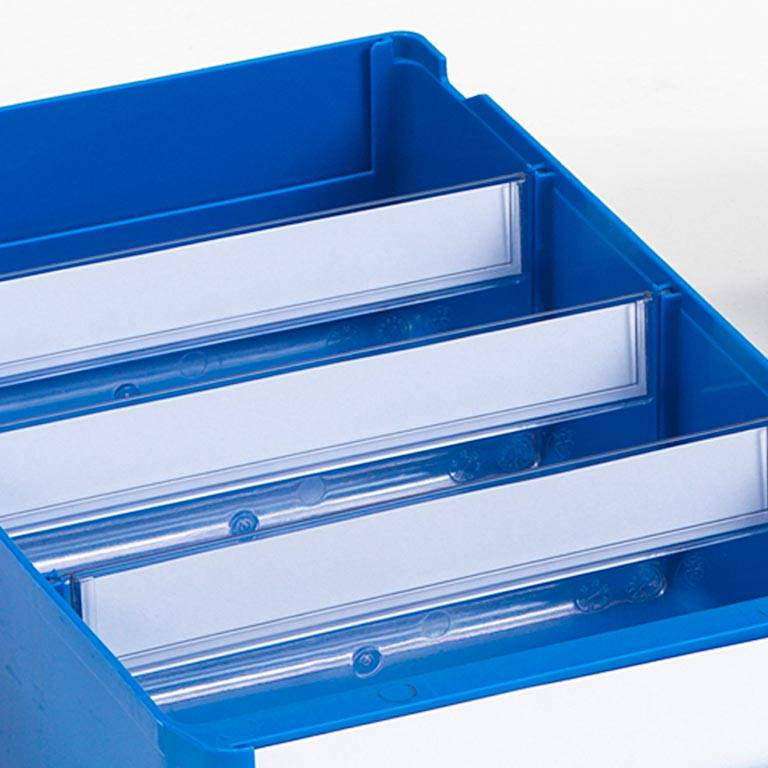 Storage box dividers: W115xH100mm: 25 pcs