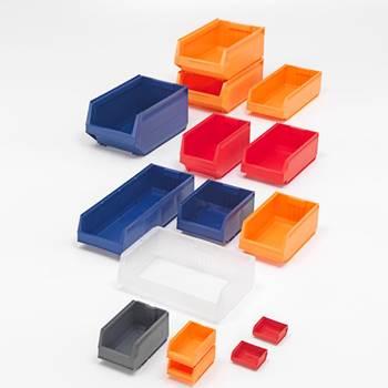 Bakk, Serie 9075, Høyde (mm):75, Bredde (mm):105, Lengde (mm):170, Gul, Kapasitet:5 kg, Volum (L):1,1, 20-pk