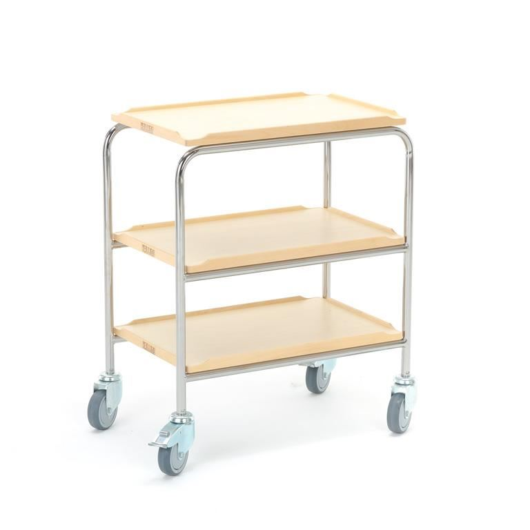 Shelf trolley: 3 shelves