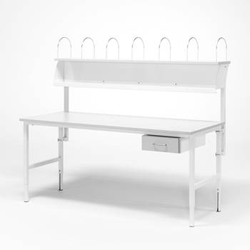 Worktable - Package price with 1 drawer + top shelf