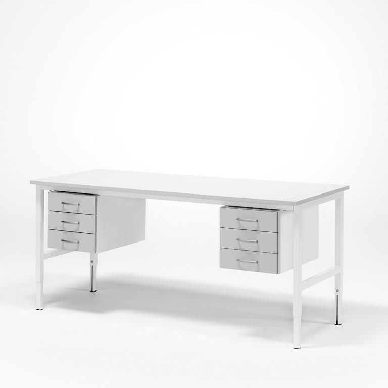 Worktable - Package price with 6 drawers