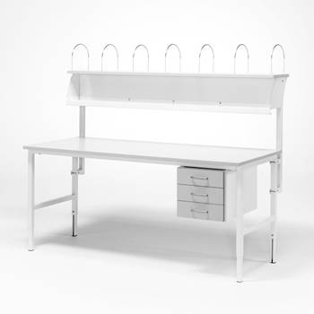 Worktable - Package price with 3 drawers + 1 top shelf
