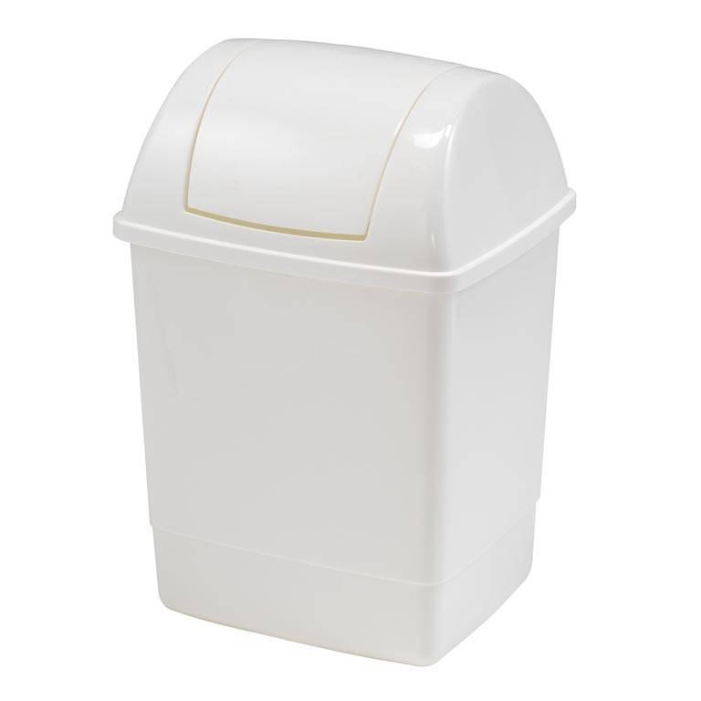 Søppeldunk med Vippelokk
