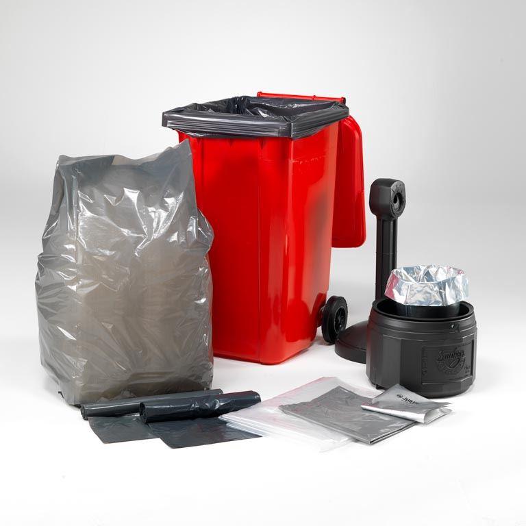 Plastikowe worki na śmieci