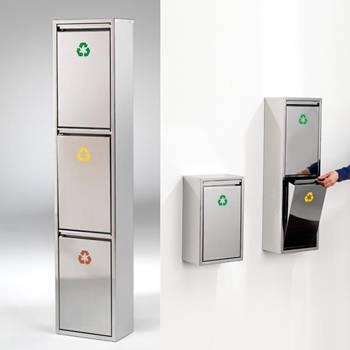 Waste separation unit