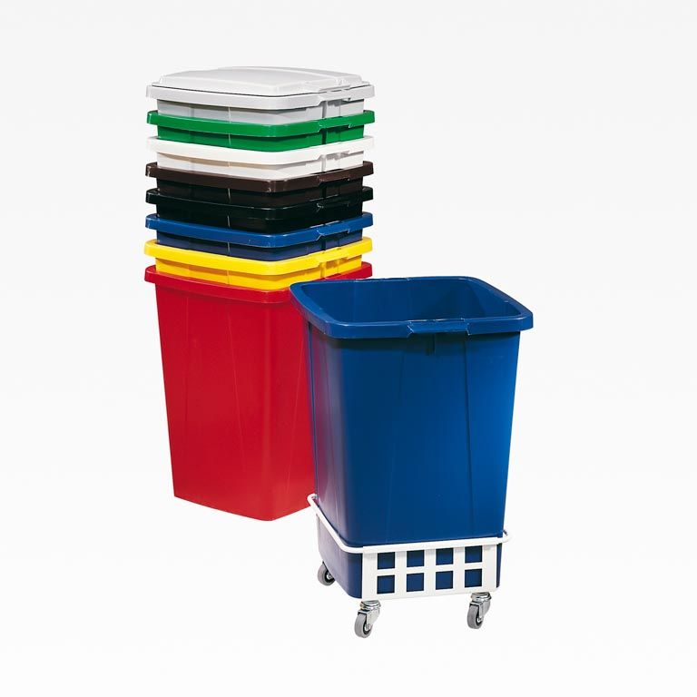 Refuse & recycling container: 90L