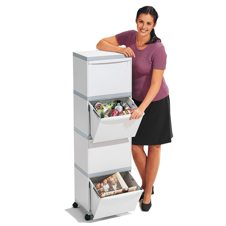 Mobile waste sorting unit