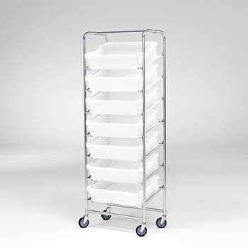 Complete tray trolleys