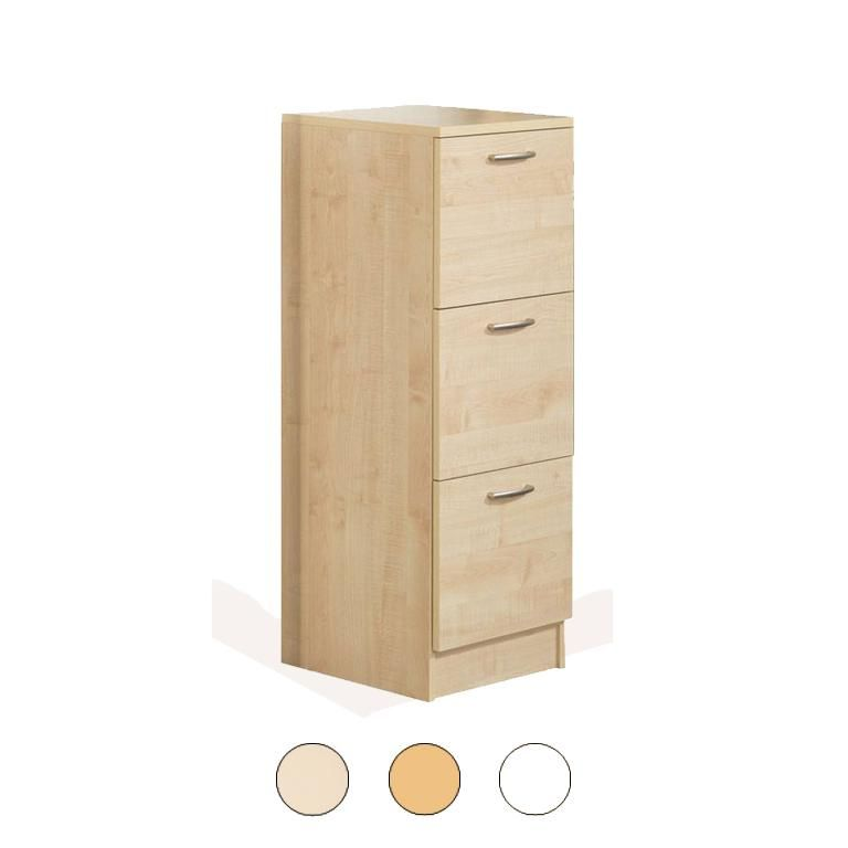 3 Drawer recycling cabinet