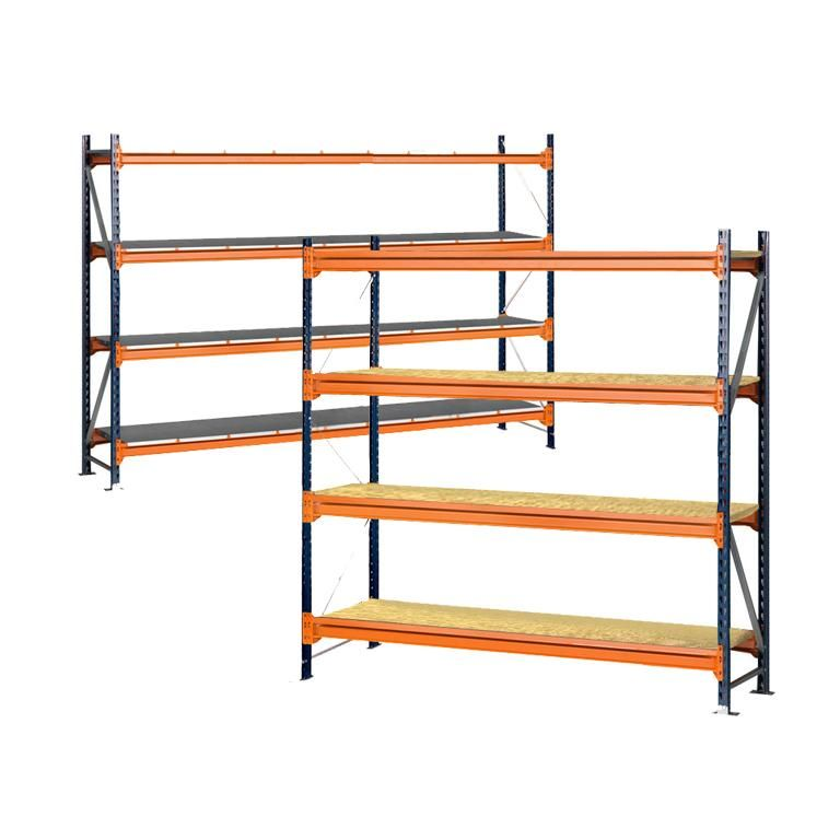 Widespan shelving: basic unit