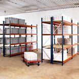 Widespan shelving: add-on unit