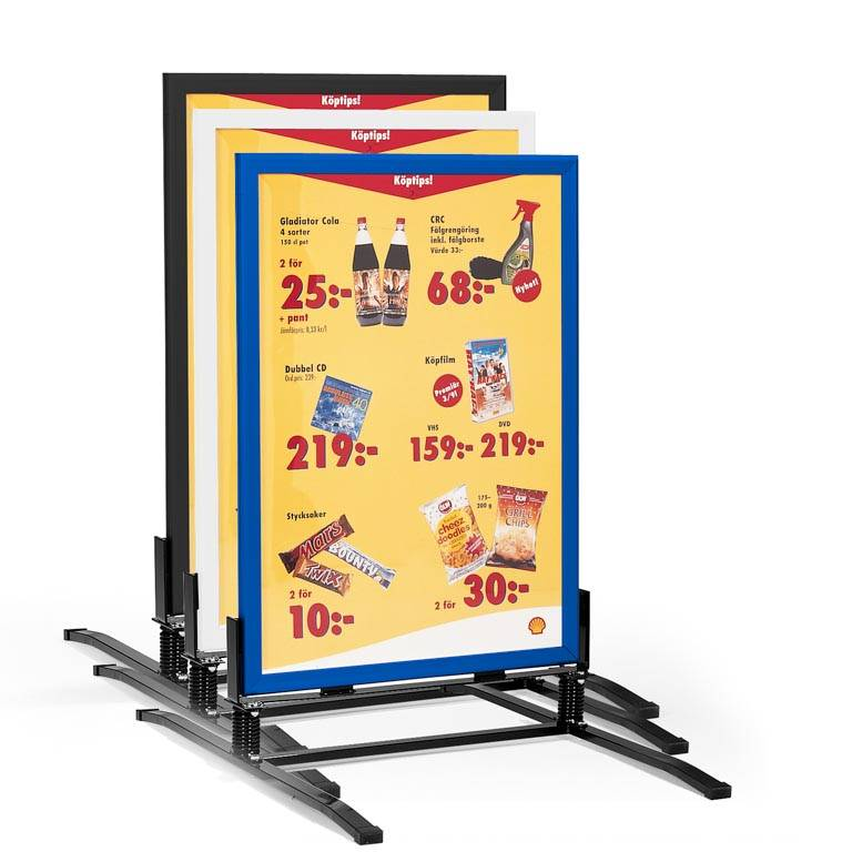 """Swing"" sign stand"