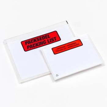 Packsedelsfickor, 1000 st