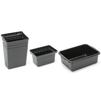 Food safe plastic bins