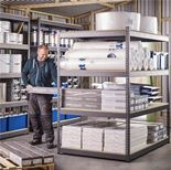 Combo shelving system