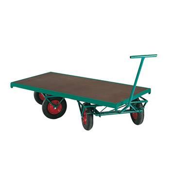 Turntable truck: 4-wheel steering: 1500kg