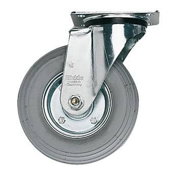 Verkstadshjul med platta