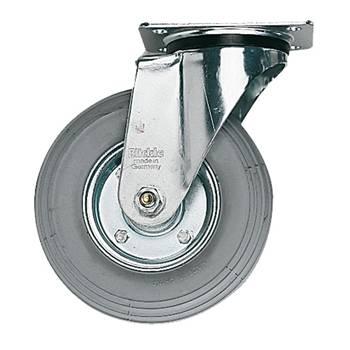 Castor wheels: pneumatic rubber