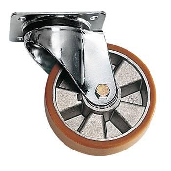 Castor wheels: polyurethane