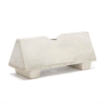 Concrete barriers with hole