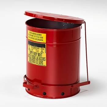 Avfallsbeholder, Brannfarlig Avfall